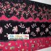 Batik Tiga Motif Hitam KBM-3580
