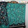 Batik Madura Pagi Sore Hitam Kombinasi Hijau KBM-7185