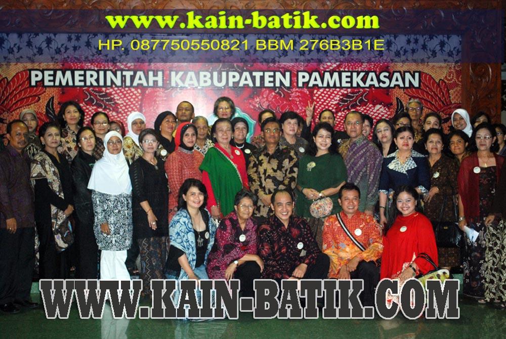 Kunjungan Paguyuban Pecinta Batik Indonesia Yogyakarta