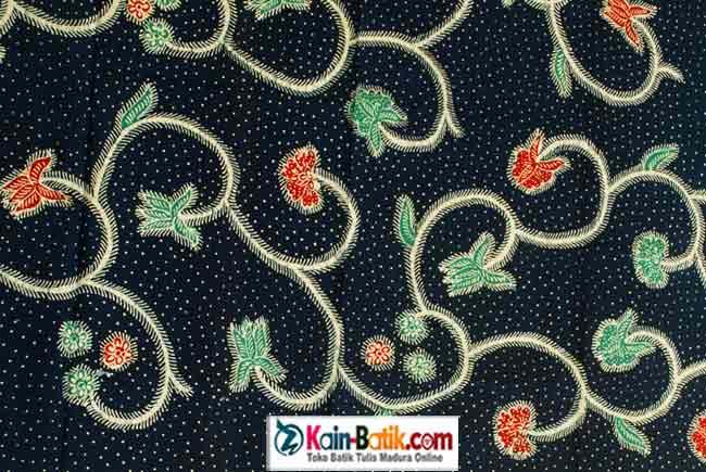 New Motif Batik Bunga Tradisional