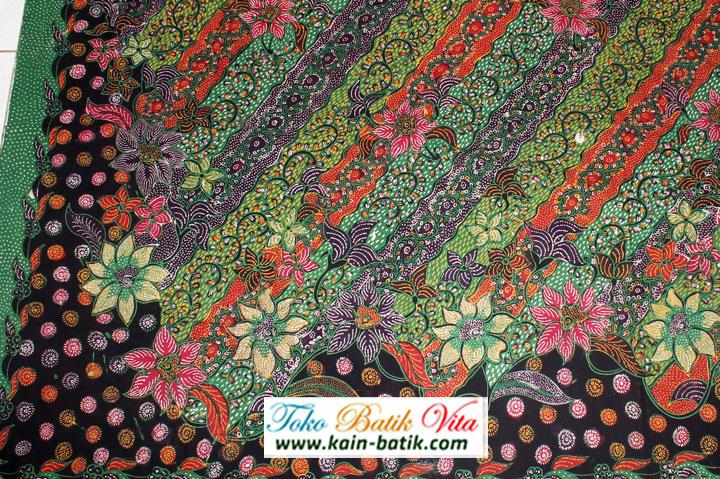 Batik Madura Podhek Hokokai KBM-3326 - Kain Batik Murah