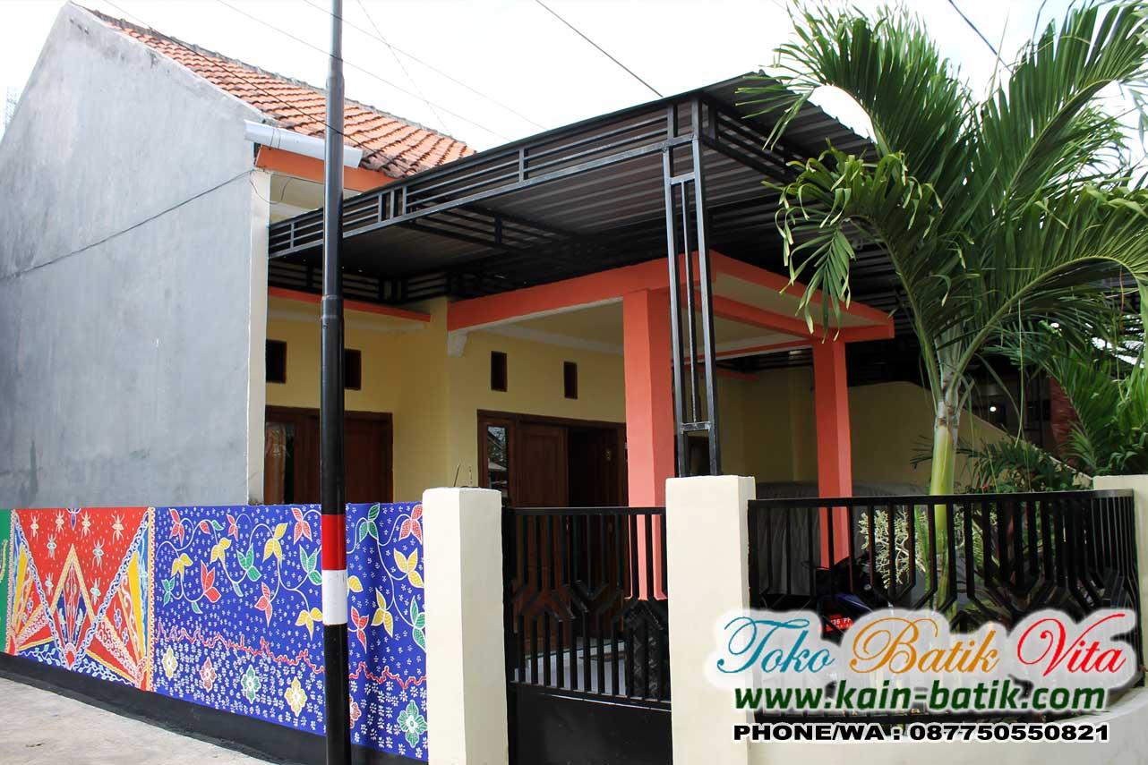 Batik Madura Warna Cerah