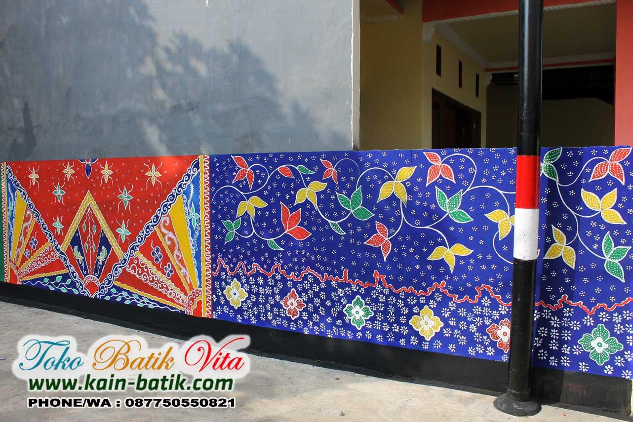 Batik Madura Mewarnai Kota Pamekasan Kain Batik Murah