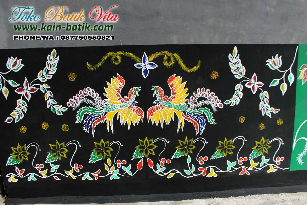 Batik Madura Motif Jatayu Tanding