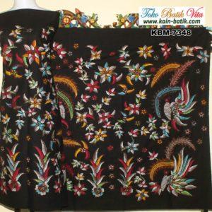 Batik Madura Flora Fauna Burung KBM-7348 - Kain Batik Murah